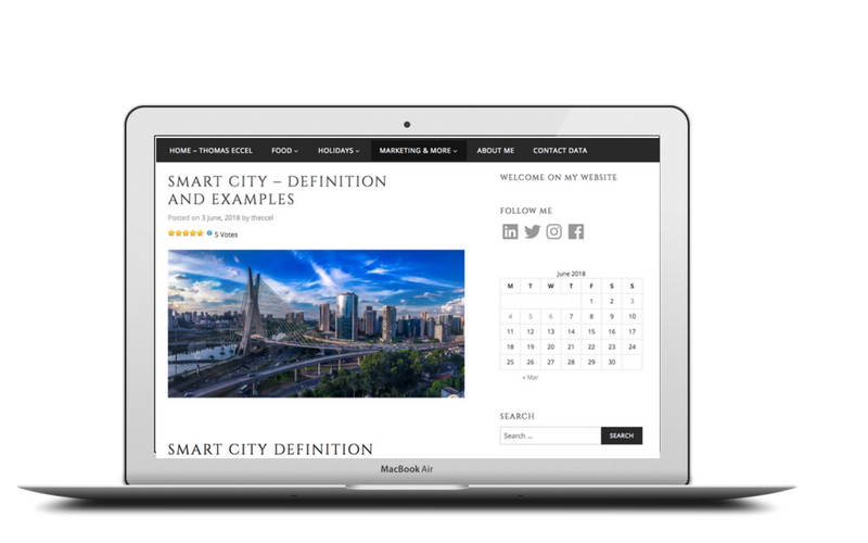 Smart City Definition